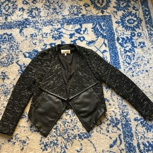SOLD BB Dakota Jacket with Leather Sleeves